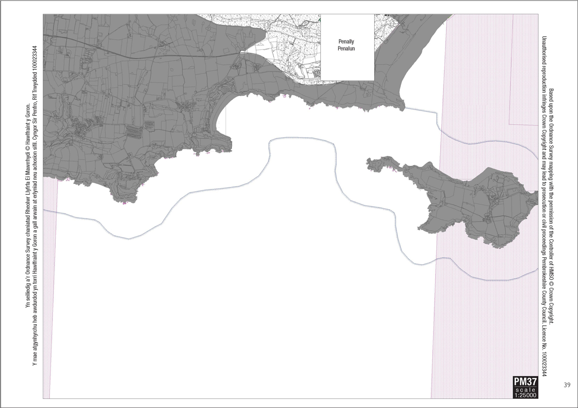 Proposal Map 37 - Pembrokeshire County Council