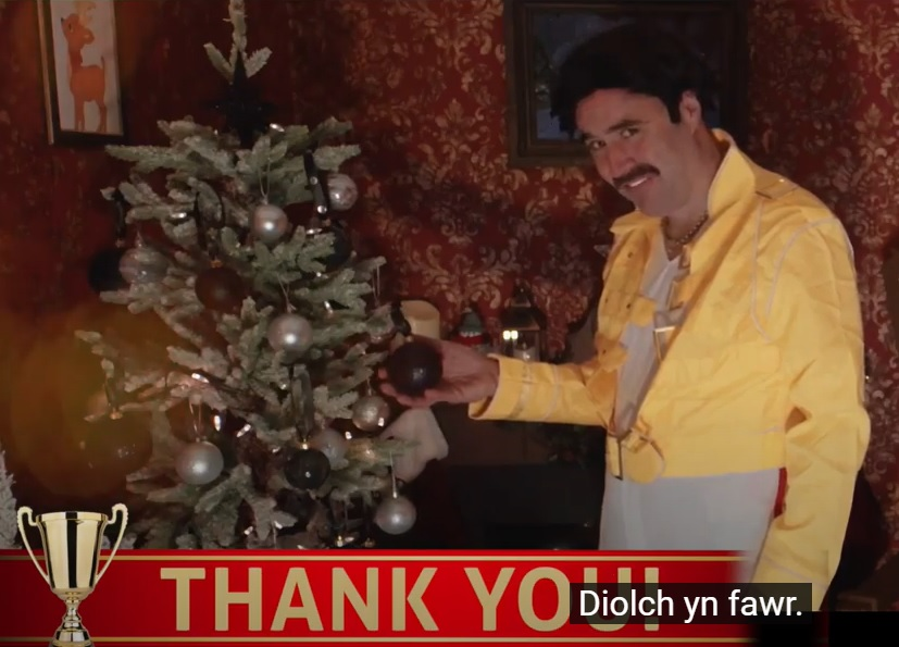 Thank God its Christmas Freddie