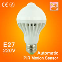 Motion Sensitive Bulb